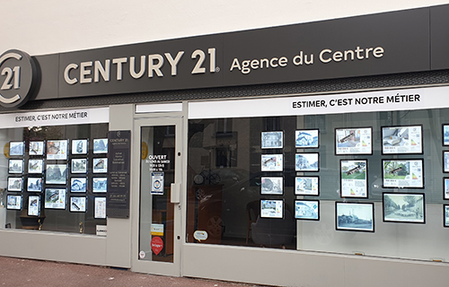 Agence immobilière CENTURY 21 Agence du Centre, 91380 CHILLY MAZARIN